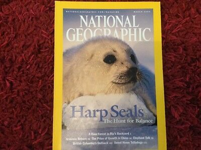 National Geographic, March 2004
