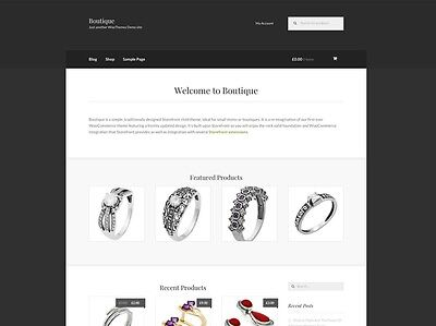 Profitable Jewellery eCommerce Store Website Business For Sale. 1-Click Install.