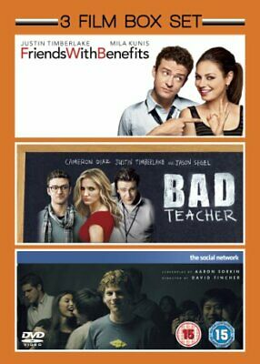Friends with Benefits (2011) / The Social Network (2010) / Bad Te... - DVD  TALN