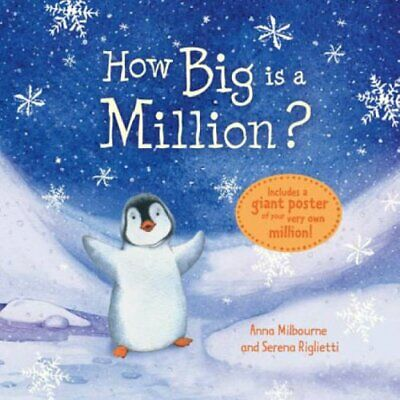 How Big is a Million? (Usborne Picture Storybooks)... by Anna Milbourne Hardback
