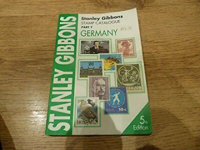Stamp Catalogue: Germany Pt. 7 by Gibbons, Stanley Paperback Book The Cheap Fast
