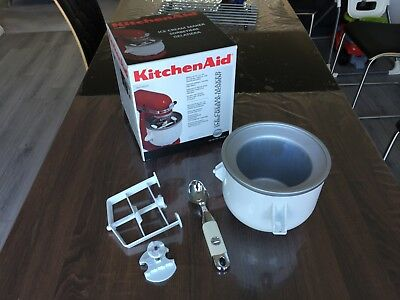 kitchen-aid ice cream Maker Bowl attachment Mixer