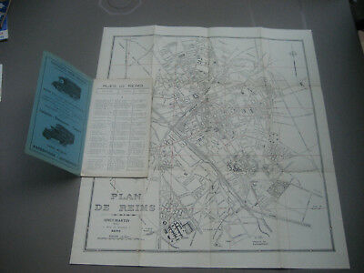 Plan ancien de REIMS - Sinet-martin - (1910- 1920 ???)
