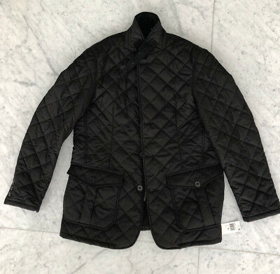 NWT Barbour Quilted Lutz Men's Jacket XL