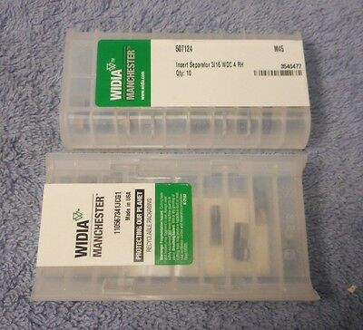 Widia     Carbide  Inserts    507124     Grade   M45     Sealed Pack  Of 10