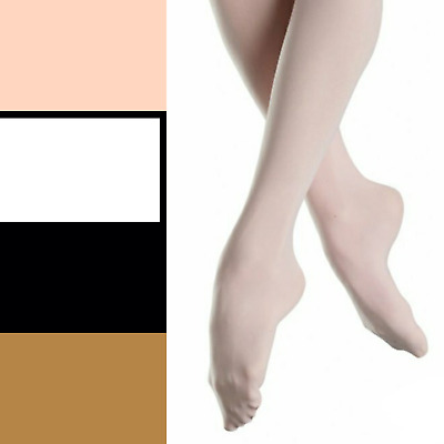 Girls / Ladies Ballet Dance Tights - 3 Colours  - UK STOCK - Fast Delivery