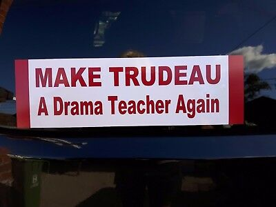 Make Trudeau A Drama Teacher Again