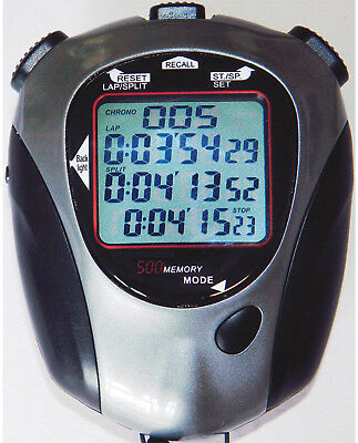 Fastime 26 Sports Game Double Countdown Time/Pacer Triple Display Stopwatch