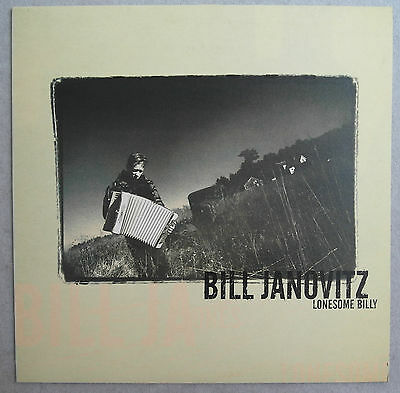 BILL JANOVITZ - Lonesome Billy  LP   NEAR MINT  Buffalo Tom