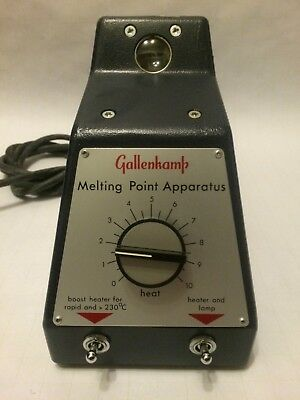 NEW Gallenkamp Melting-Point Apparatus 110V