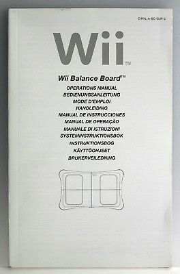 official nintendo wii fit balance board instruction manual 2 75 rh picclick co uk Black Wii Console Wii User Guide