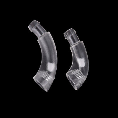 1X Earmold Hook Elbow Tubing Connector For Hearing Aid Earmould PVC Mater TK