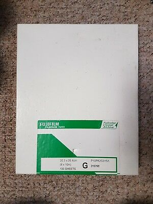fujifilm fujicolor crystal archive gloss paper SEALED 10x8 100 sheets