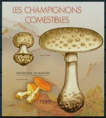 [32522] ND/Imperf- BL286 yvert, Les champignons comestibles