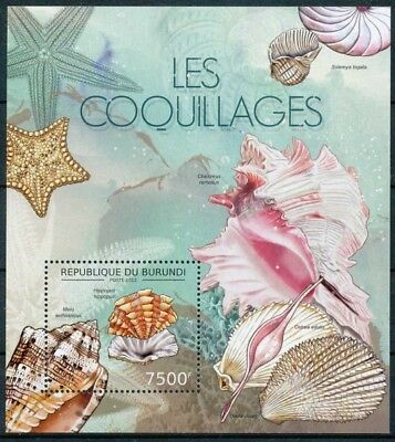 [32432] **/Mnh- BL274 yvert, Les coquillages, faune marine