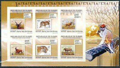 [33974] ND/Imperf- N° 4564/4569, Guinée - ND/imperf -  WWF dans les timbres.