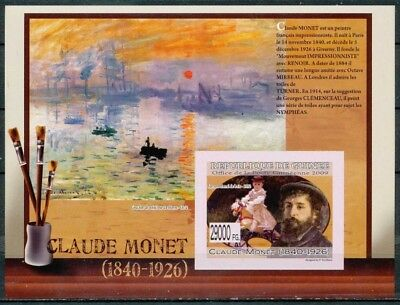 [33564] ND/Imperf- BL1023, Guinée - ND/imperf -  Claude Monet (1840-1926).