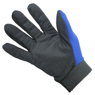 Fashion Mens Full Finger Sport Gloves Exercise Gym Gloves Gloves Black