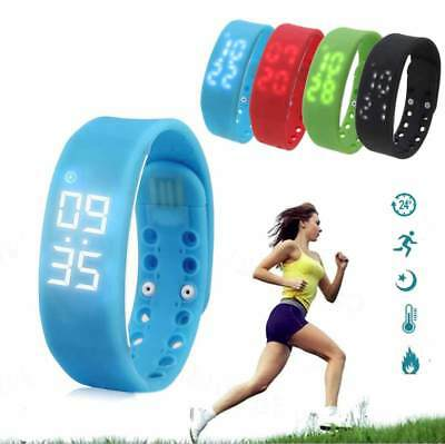 Step Counter Calorie Monitor Fitness Activity Tracker Pedometers Smart Wristband