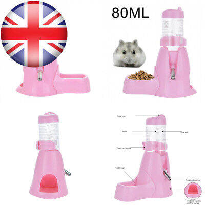 Small Animals Water Bottle MOACC Automatic Feeder and Food Dispenser for...