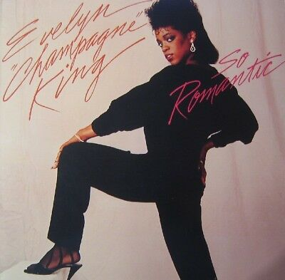 Evelyn Champagne King, Evelyn King So Romantic RCA Vinyl LP