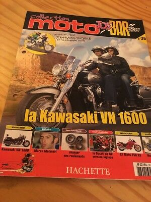 Joe Bar Team fasicule n° 36 collection moto Hachette revue magazine brochure
