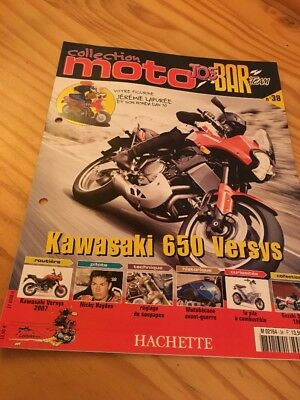 Joe Bar Team fasicule n° 38 collection moto Hachette revue magazine brochure