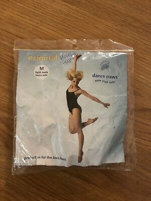 Dance Paws dance shoes foot paws light nude size medium/small