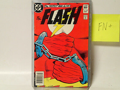 The FLASH #326 DC Comics 1983 FN+  The Fastest Man Alive! Shame in Scarlet