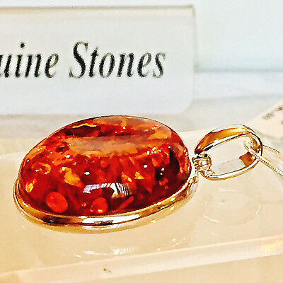 Vintage Russian Baltic Amber Necklace Natural Butterscotch Egg Yolk Polish 老琥珀