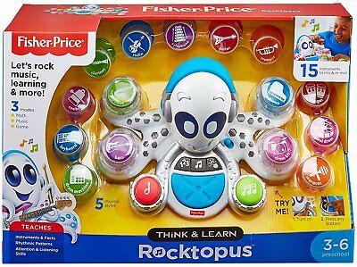 Fisher Price Think & Learn Rocktopus FXW98 NEW