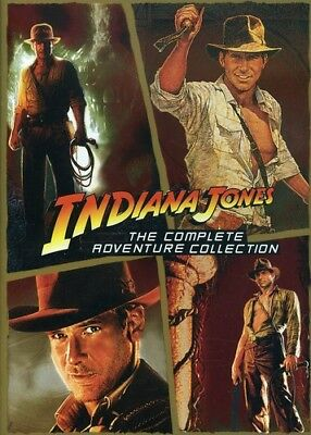 Indiana Jones: The Complete Adventure Collection [New DVD] Boxed Set, Slim Pac