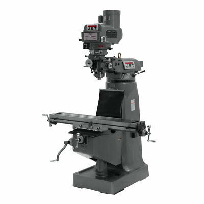 Jet 690411 JTM-4VS-1 Mill, 3-Axis ACU-RITE VUE DRO (Knee) With X-Axis Powerfeed