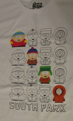 New SOUTH PARK T Shirt Size Large Rue 21 Exclusive NWT Cartman Stan Kyle Kenny