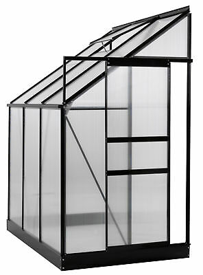 OGrow 4 Ft. W x 6 Ft. D Lean-To Greenhouse