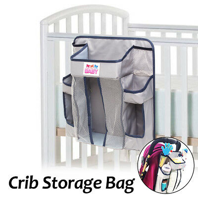 Baby Bed Hanging Crib Storage Bag Carriage Organizer Diaper Toy Nursery Clothes