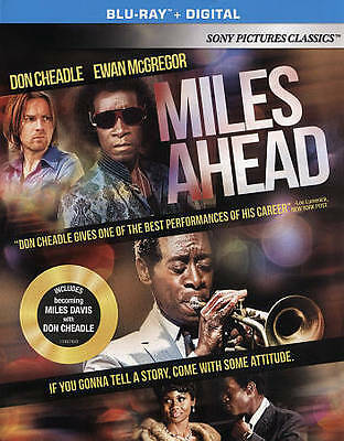 Miles Ahead (Blu-ray Disc, 2016, Includes Digital Copy UltraViolet)