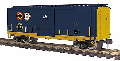 MTH 70-74098, 1 Gauge / G Scale, 40' Box Car - CSX (Safety Train)