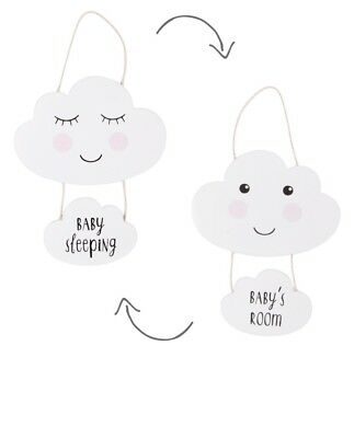 Sass & Belle Sweet Dreams Cloud Baby's Room Plaque Hanging Door Sign Nursery