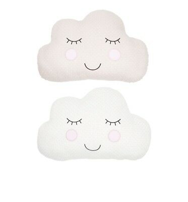 Sass & Belle Sweet Dreams Cloud Cushion Pillow Baby Nursery Kids Room Decor