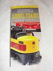 Greenbergs Pocket Price Guide: Lionel Trains