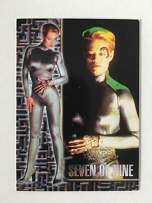 Star Trek Voyager Profiles Seven of Nine Sonderkarte 6of9 Mint Trading Cards