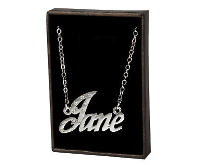 """18ct Gold Plated Christmas Birthday Personalised Gift Name Necklace /""""RACHEL/"""""""