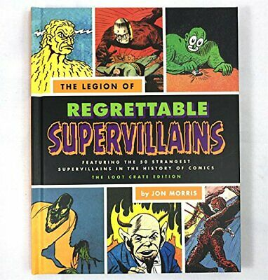 The Legion of Regrettable Supervillains by Jon Morris Book The Cheap Fast Free