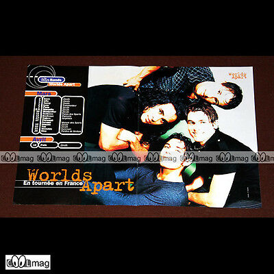 WORLDS APART (Boys Band) / Les dates de la tournée 1997 - Poster #PM977