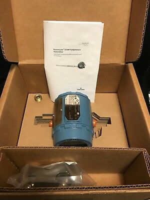 Rosemount 3144P D1A1E5B4M5DA1 4-Wire Display Temp. Transmitter 2017 NEW IN BOX