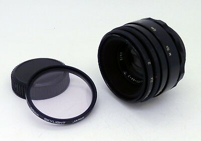 Helios 44-2 58mm F2 M42 Mount Lens - MADE IN USSR #2582