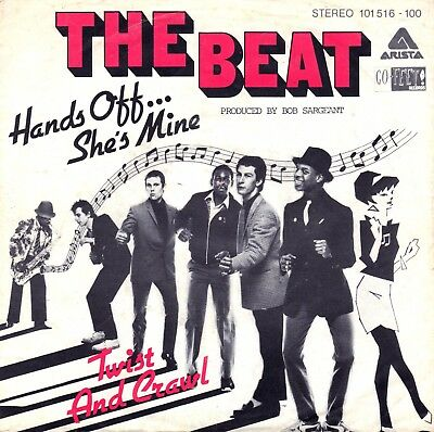 "7"" Beat – Hands Off… She's Mine / Twist And Crawl / SKA // Germany 1980"