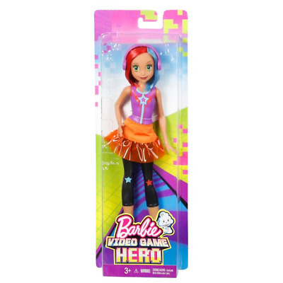 New Barbie Video Game Hero Match Multi Colour Doll Dolls Figure Toys Figure Toy