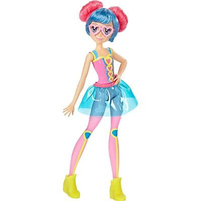 New Barbie Video Game Hero Match Pink Glasses Doll Dolls Figure Toys Figure Toy